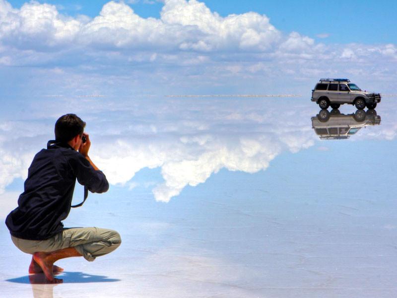 4. Солончак Уюни красивые места, прекрасная планета, чудеса природы