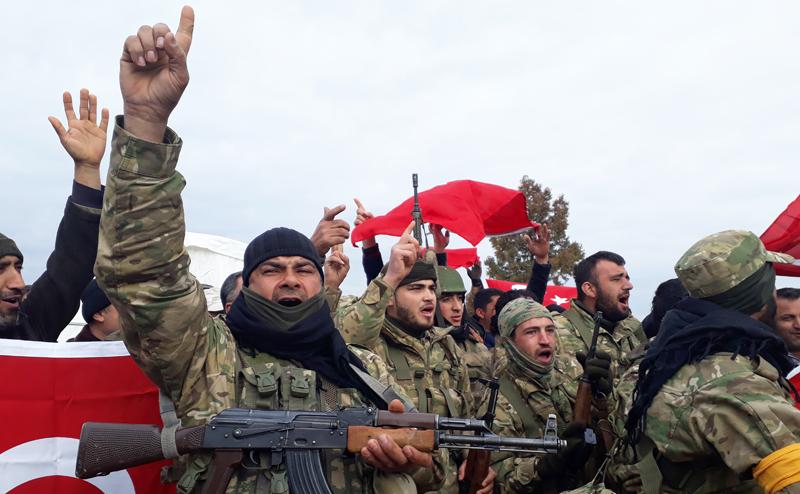 Эрдоган изгоняет американцев из Сирии, грозя Третьей мировой
