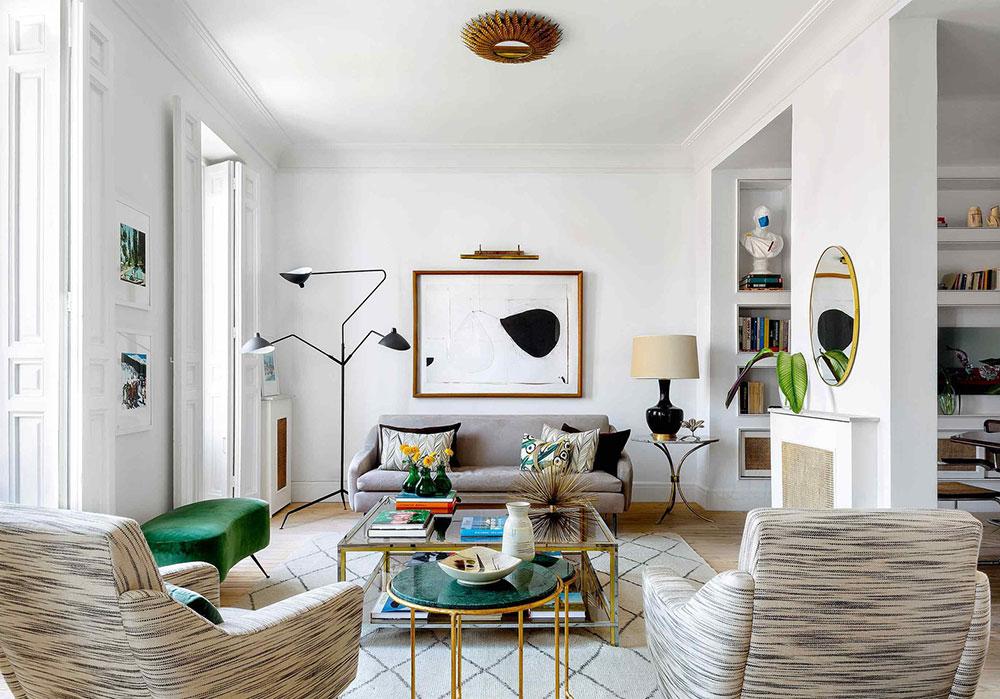 Квартира дизайнера с интересными деталями в Мадриде (95 кв. м)