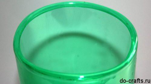 Как закруглить края пластиковой бутылки главная