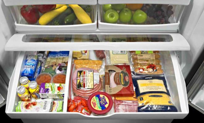 Как организовать пространство холодильника, чтобы еда была свежей дольше