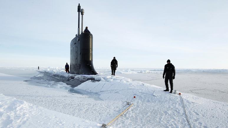 Где бриташки и где Арктика?
