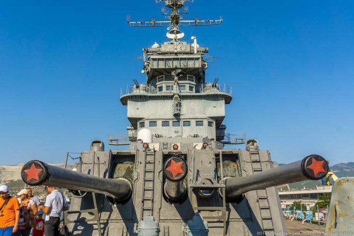 Самый большой военный корабль в Черном море