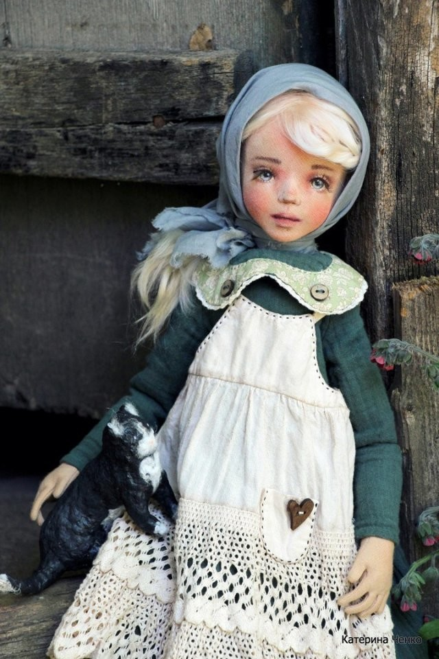 Авторские куклы Екатерины Ченко