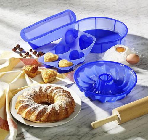 Способы использования силиконовой формы для выпечки