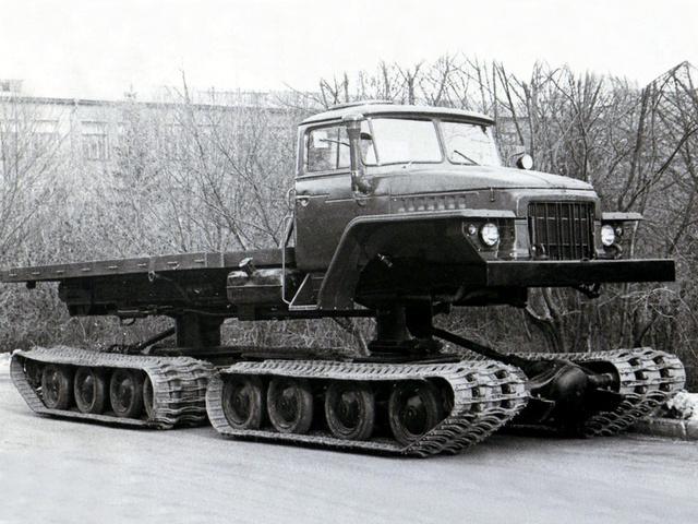 Король бездорожья: вездеход Урал-5920