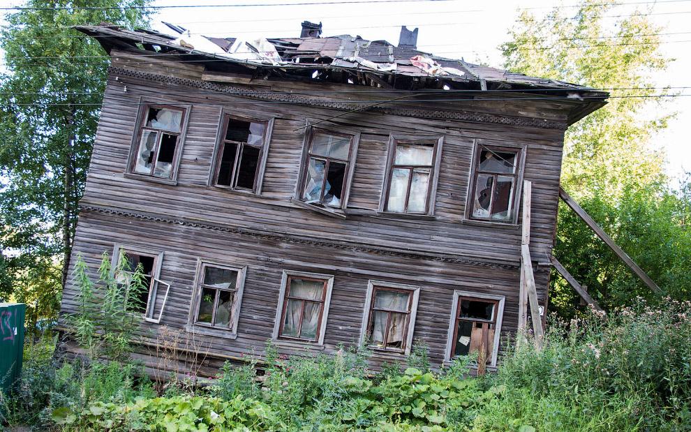 Деревянный дом в Архангельске