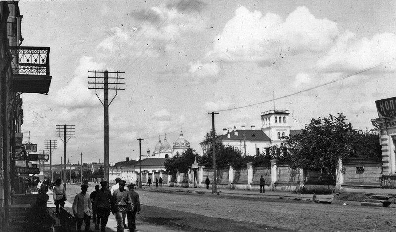 1925. Улица Ленина история, ретро, фото