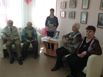 Вечер памяти пучежской поэтессы Е.А. Рыжовой