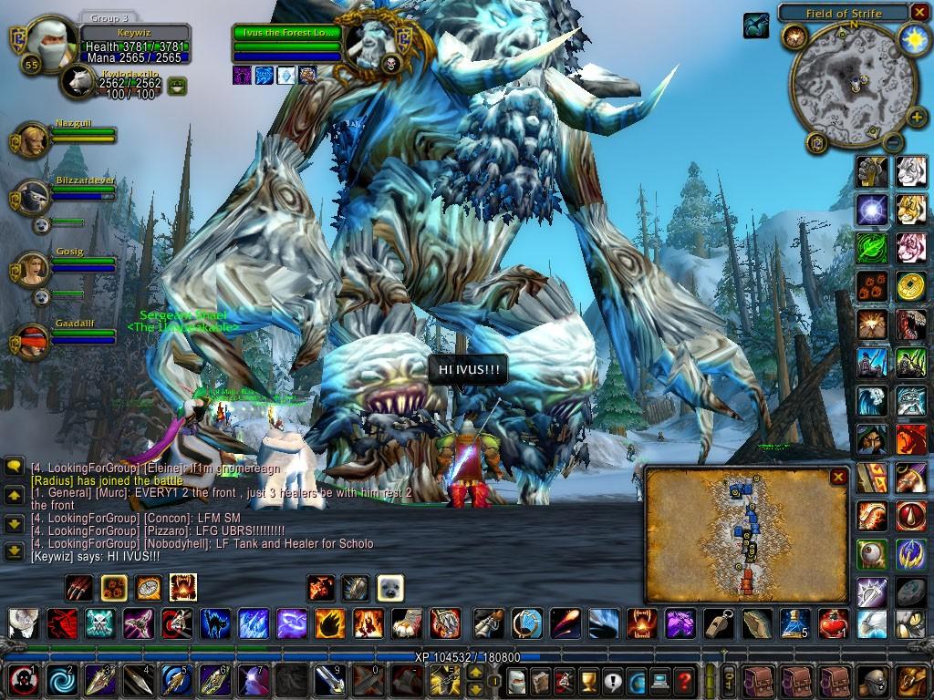 Старый World of Warcraft лучше новых двух? action,fantasy,mmorpg,world of warcraft,геймплей,Игры,Фентези