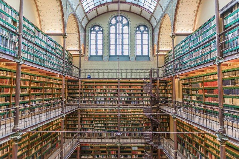 13. Научная библиотека Рейксмузея, Амстердам, Нидерланды архитектура, библиотека, библиотеки, библиотеки мира, красота, путешествия, фотограф, фотопроект