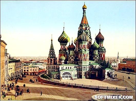 Чудеса России - собор Василия Блаженного