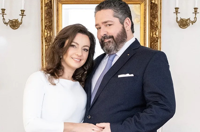 Великий князь Георгий Романов, потомок Николая II, обручился со своей возлюбленной Ребеккой Беттарини Звездные пары