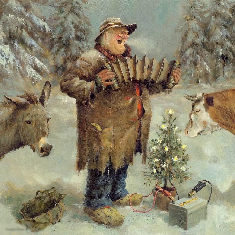 Когда старость в радость: оптимистичные работы голландского художника Marius van Dokkum, фото № 1