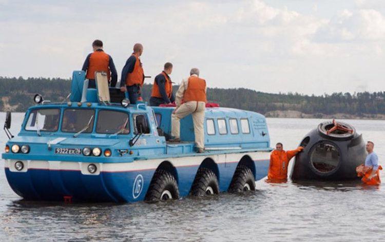 Рыбы ваши собственные зонды из воды с этим очень дорого грузовик