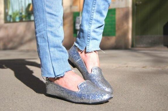 Isabella Hellgren, Швеция, серебристые туфли Style by Tyra, www.stylebytyra.se/blogg/bella
