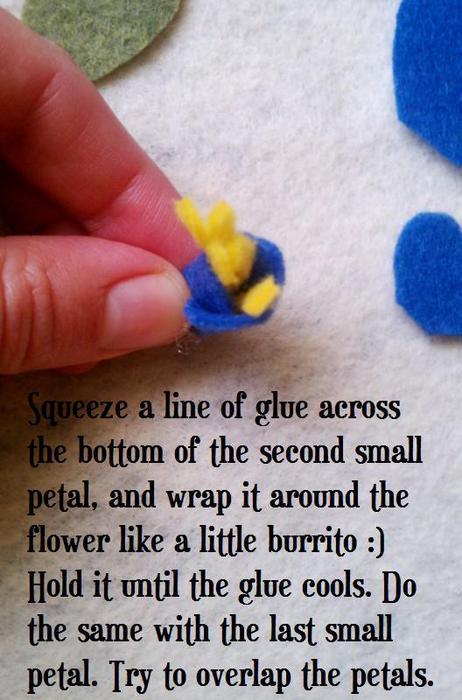 Осенние венки с цветами из фетра. Идеи для вдохновения декор,идеи и вдохновение
