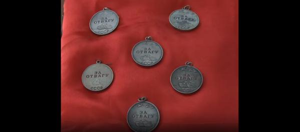 """Единственный кавалер шести медалей """"За Отвагу"""""""