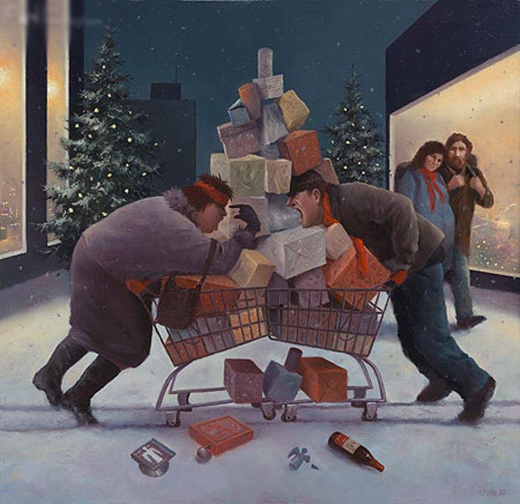 Когда старость в радость: оптимистичные работы голландского художника Marius van Dokkum, фото № 11