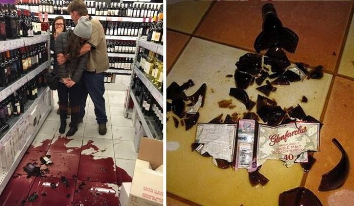 Должен ли посетитель возместить ущерб, если в супермаркете разбил бутылку вина
