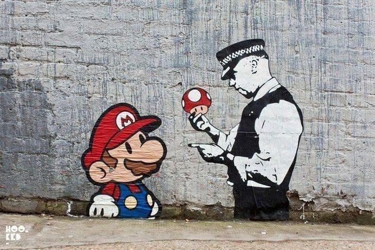 Отличное граффити! настроение, позитив, юмор