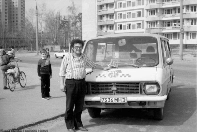 Советская маршрутка: старый, добрый Рафик