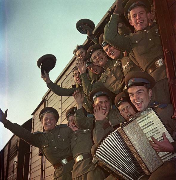 ДМБ-1959 СССР, фото, это интересно
