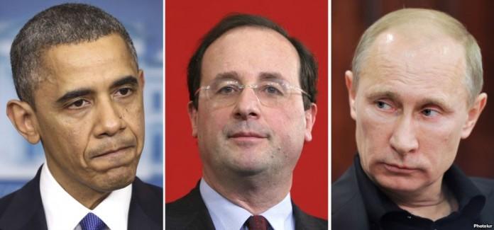 Заспорили Обама, Олланд и Путин, у кого солдаты выносливее… Анекдот дня!