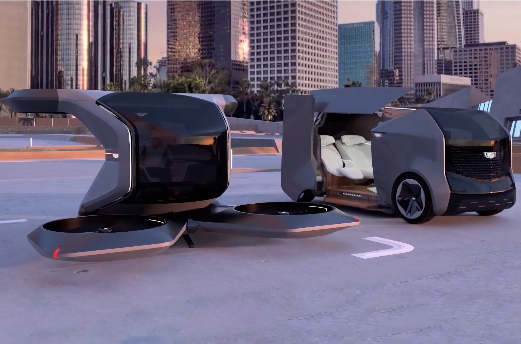Cadillac представил футуристичный концепт персонального транспорта будущего Новости