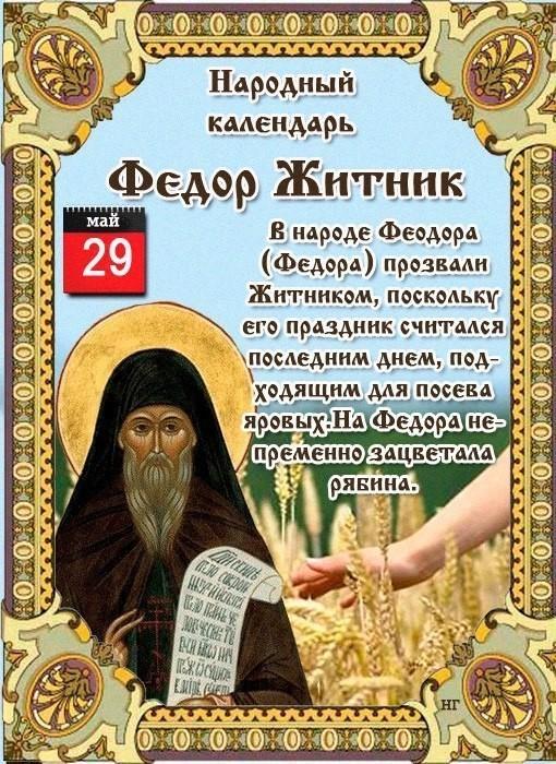 Фёдор Житник Приметы  картинка