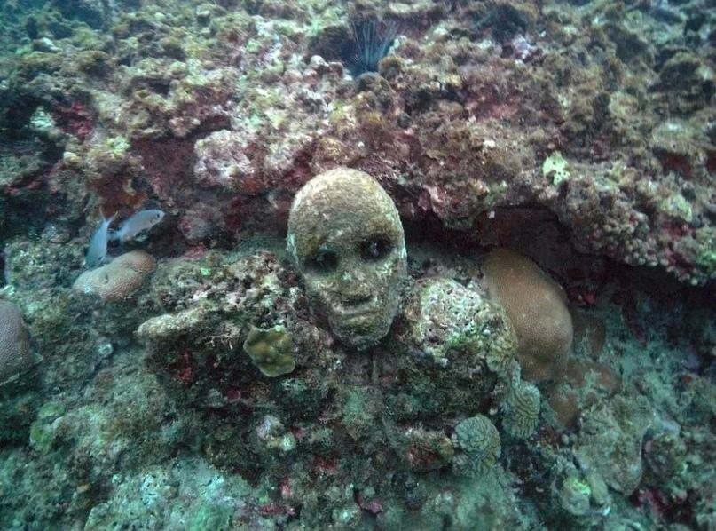 7 самых странных вещей, найденных под водой