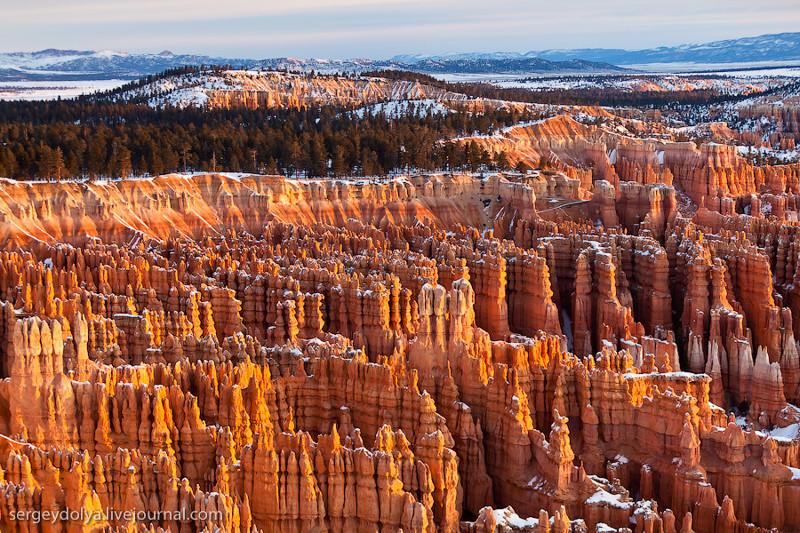 16. Брайс Каньон, США. красивые места, прекрасная планета, чудеса природы