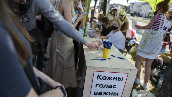 Что происходит в Белоруссии: Драки с ОМОНом, первая кровь - трансляция геополитика