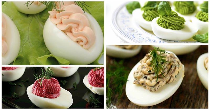 Фаршируем яйца, как профи: 5 вкусных начинок, которые вы полюбите