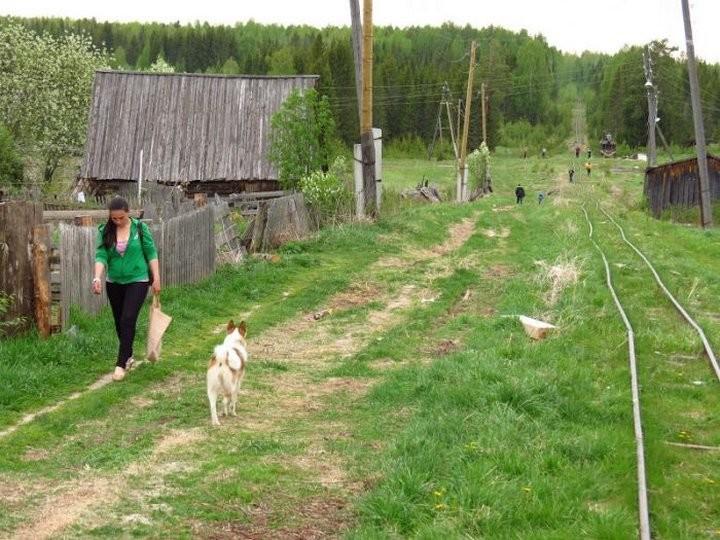 Жизнь в российской глубинке. Не верится, что там живут люди...