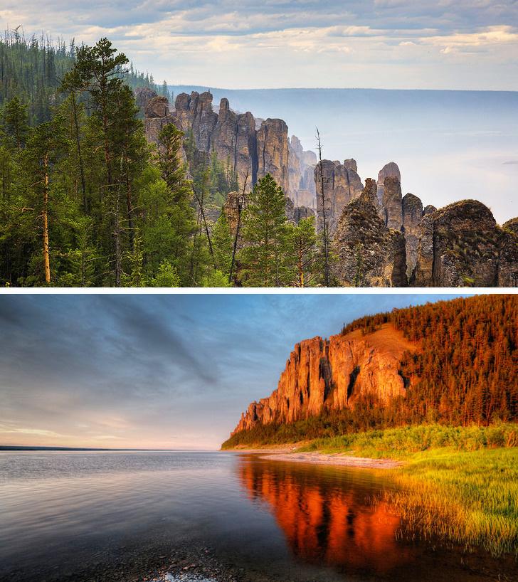 10 мест России, которые выглядят как кадры из фэнтези Россия
