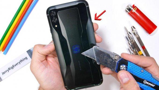 Black Shark 4 от Xiaomi выдержал испытание на прочность