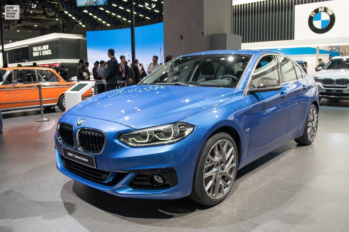 BMW 1 Series Sedan вышел за рамки Поднебесной