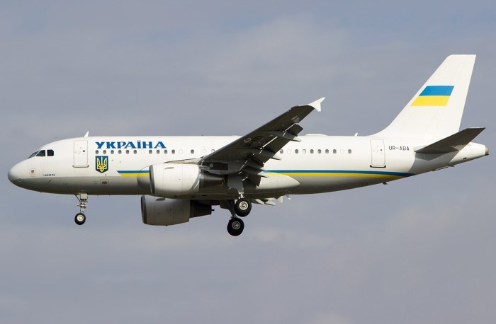 Самолет главы Украины.