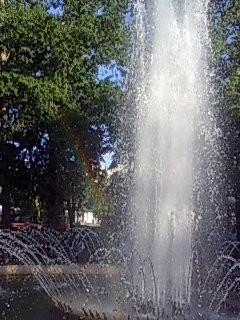 фонтан на Химкинском