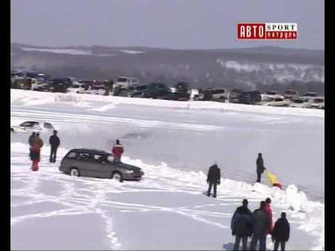 ледовые гонки г.Владивосток, г.Находка