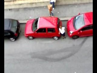 parcheggio fantastico..