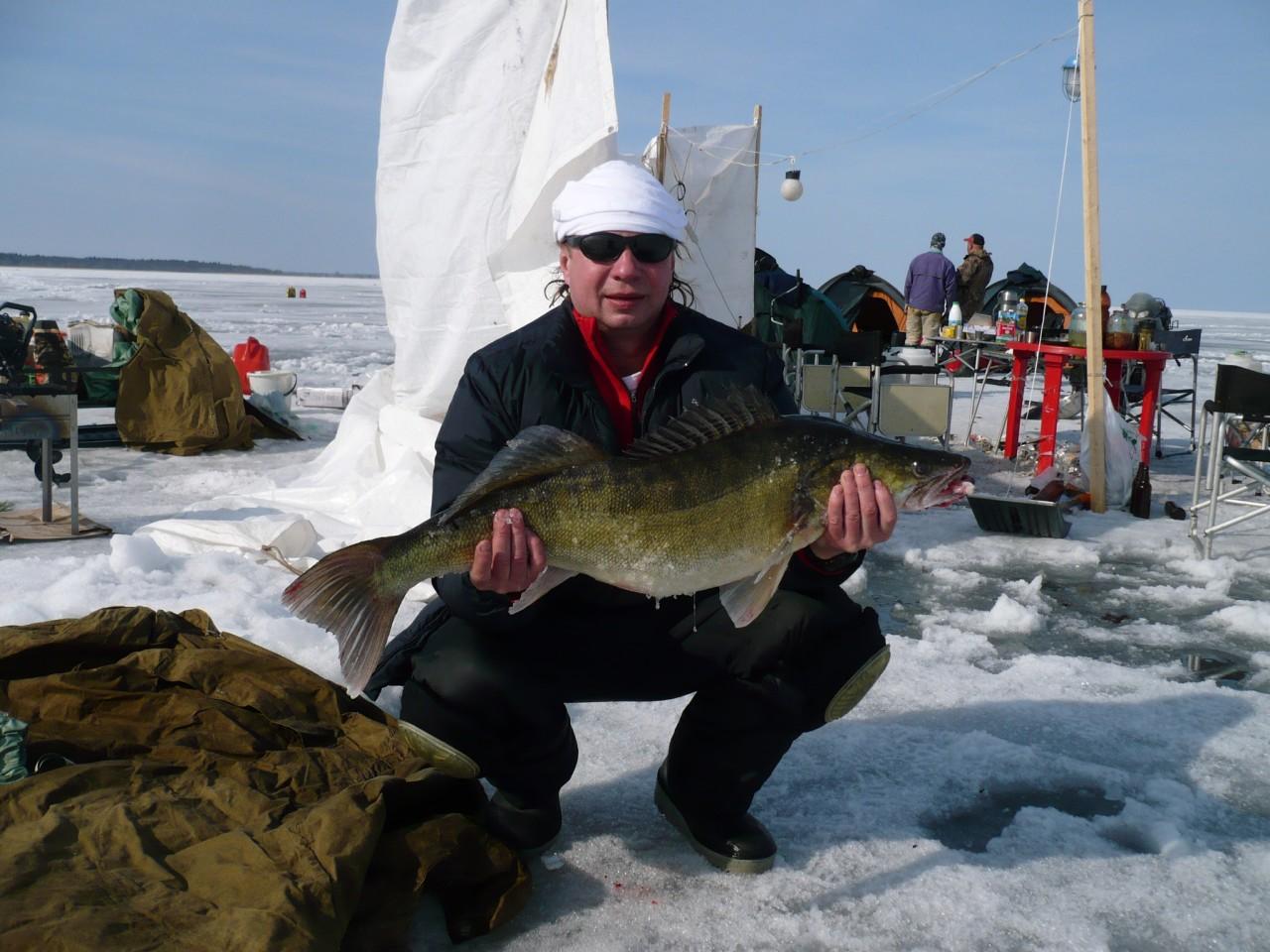 Рыбалка на воже озере