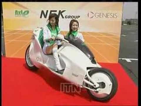 Magnetic Motor Bike