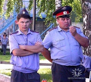 в милиции работают самые красивые парни