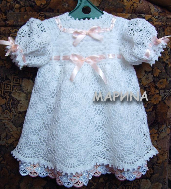 крестильное платье