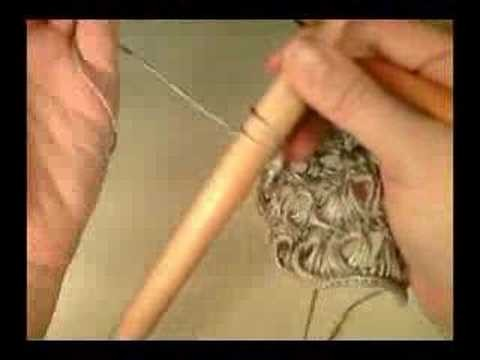 Shaping Broomstick Lace 2 - Increasing