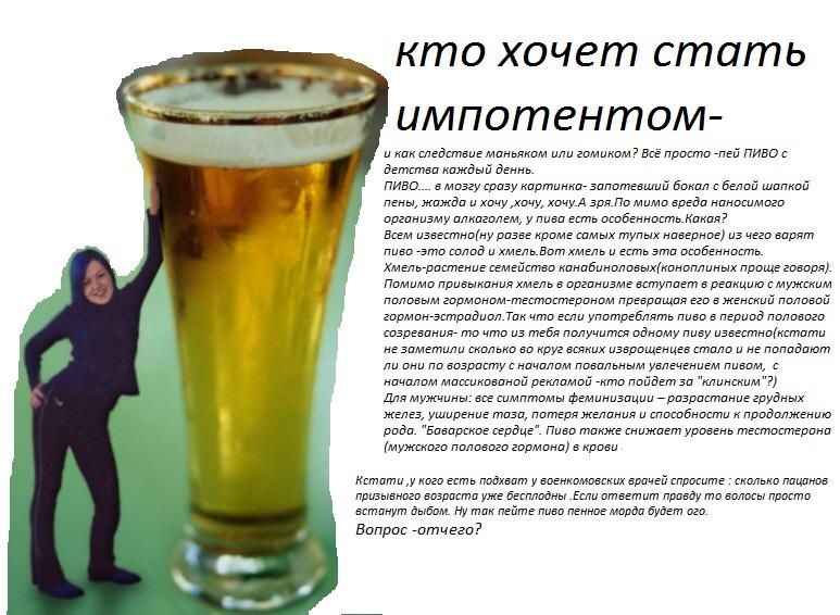 что будет если много пить пиво картинки все