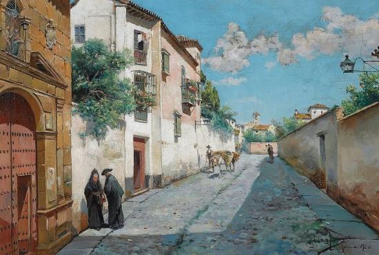 художник Мануэль Гарсия и Родригес (Manuel Garcia y Rodriguez) картины – 25