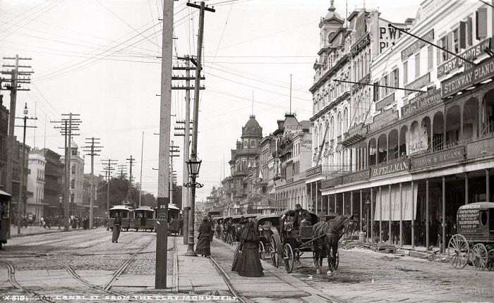 Новый Орлеан в конце XIX века.